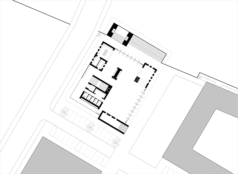 Church Of Light Floor Plan Part - 48: ... The Church Unites The Earth With The Light Of The Sky. The Roof-top  Garden Offers An Oasis For Everyone, With Room For Both Reflection And  Togetherness.
